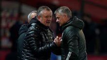 Sheffield Utd boss Wilder coy on survival hopes after shocking Man Utd