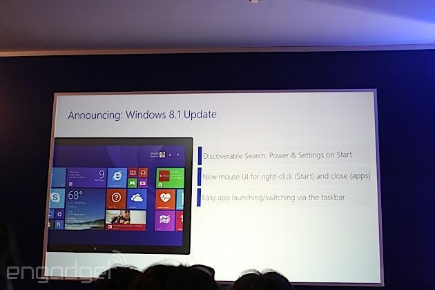 Update to Windows 8.1 coming this spring with more hardware options, benefits for non-touch users