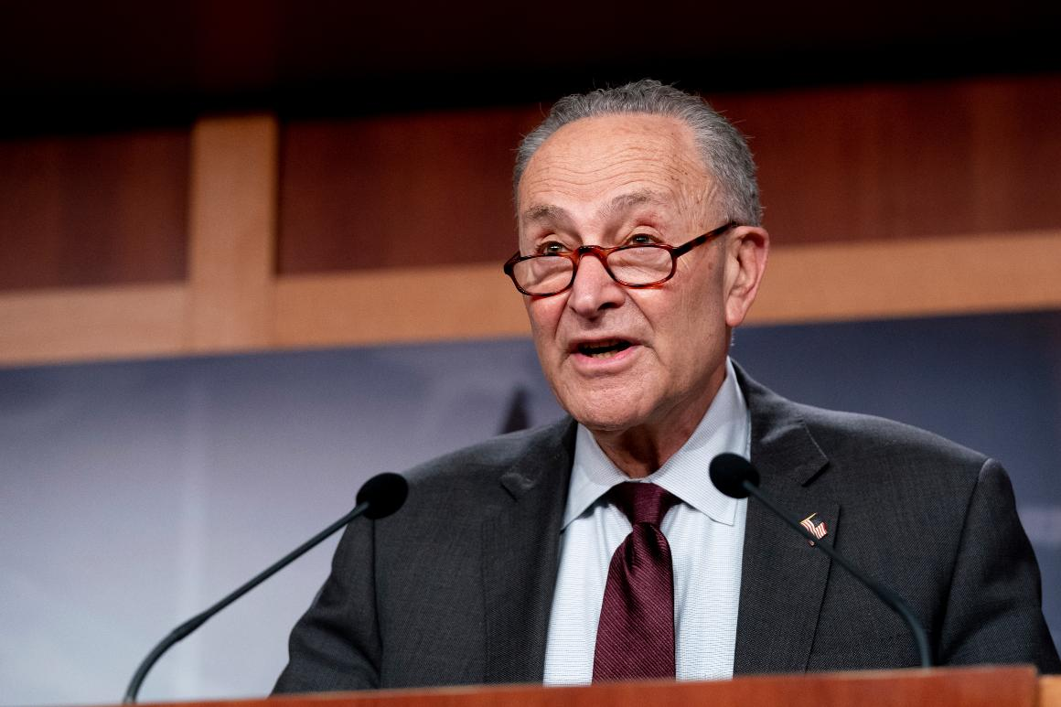 Schumer: Senate will act on marijuana legalization with or without Biden