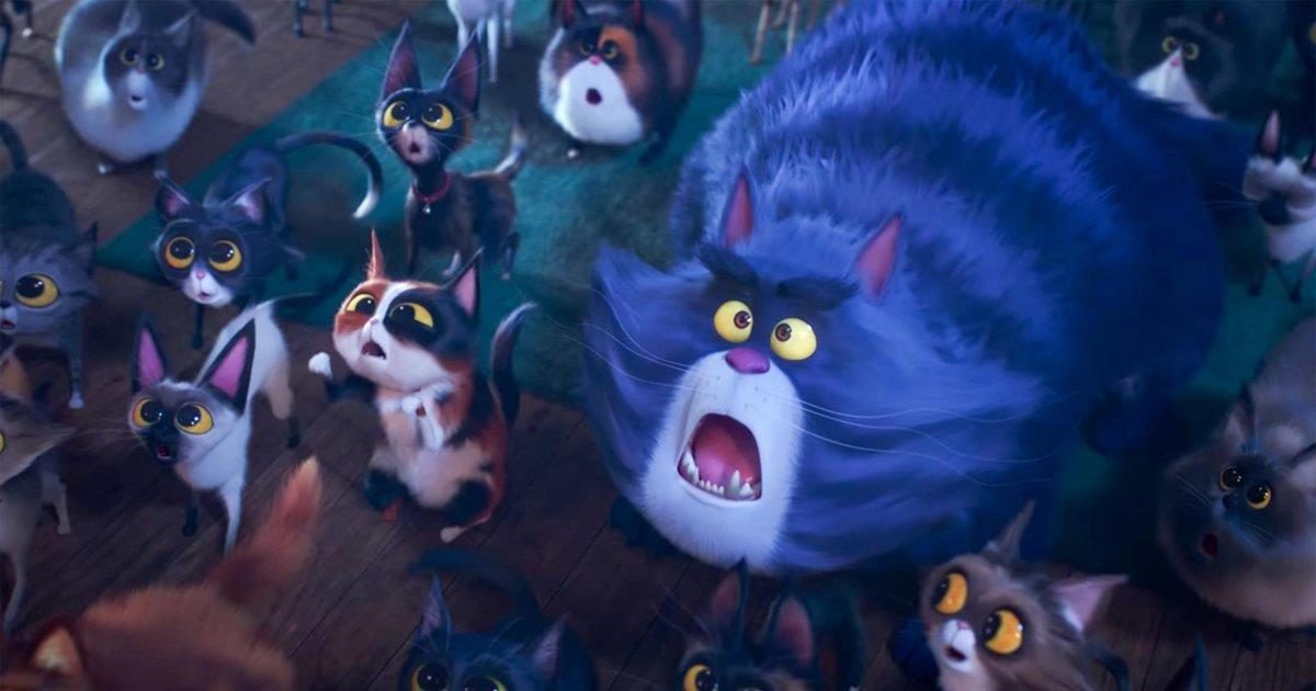 The Secret Life Of Pets 2 Trailer Faces A Cat S Ultimate Nemesis The Red Dot