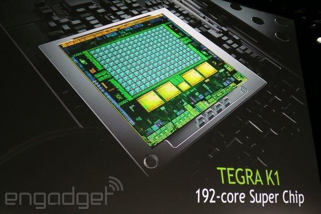 NVIDIA announces Tegra K1 with 192 cores and Kepler architecture