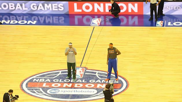 The NBA's first 4K broadcast unfortunately involves the Knicks