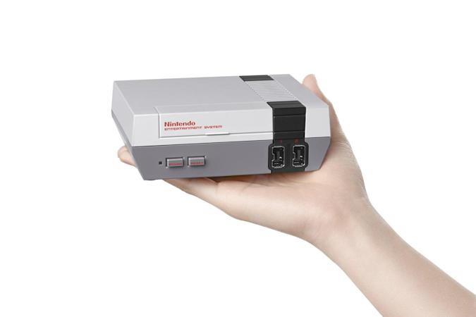 Nintendo's Classic Mini is a tiny NES with 30 games