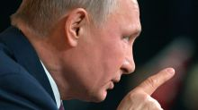 Putin says Russians will reject opposition 'coup' at annual press conference