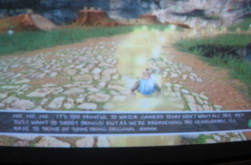 Banjo Kazooie: Nuts & Bolts text unreadable on SDTVs, no fix planned