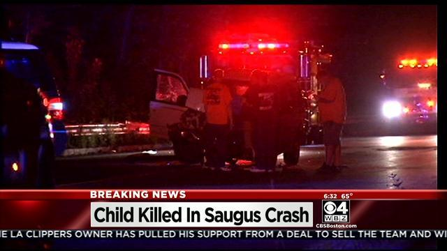 3-Year-Old Killed In Saugus Crash
