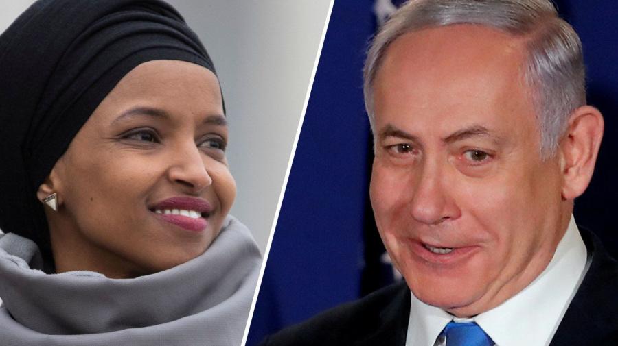 Rep. Omar says it is about one Benjamin: Netanyahu