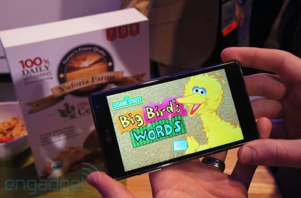 Sesame Street hits CES with augmented reality app for kids, we go hands-on (video)