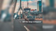 Jeep PH celebrates Filipino resilience with P365k discount on Jeep Compass