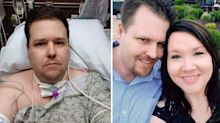'I couldn't breathe': Father of nine's horrific six-month virus ordeal
