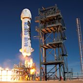 Blue Origin has set a date for a crucial mid-air safety test that'll likely blow up its rocket
