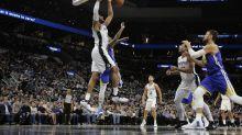 Spurs vencen a Warriors y suman nueve triunfos seguidos