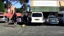 Sydney Machete-Wielding Robbers Captured on Dashcam Footage