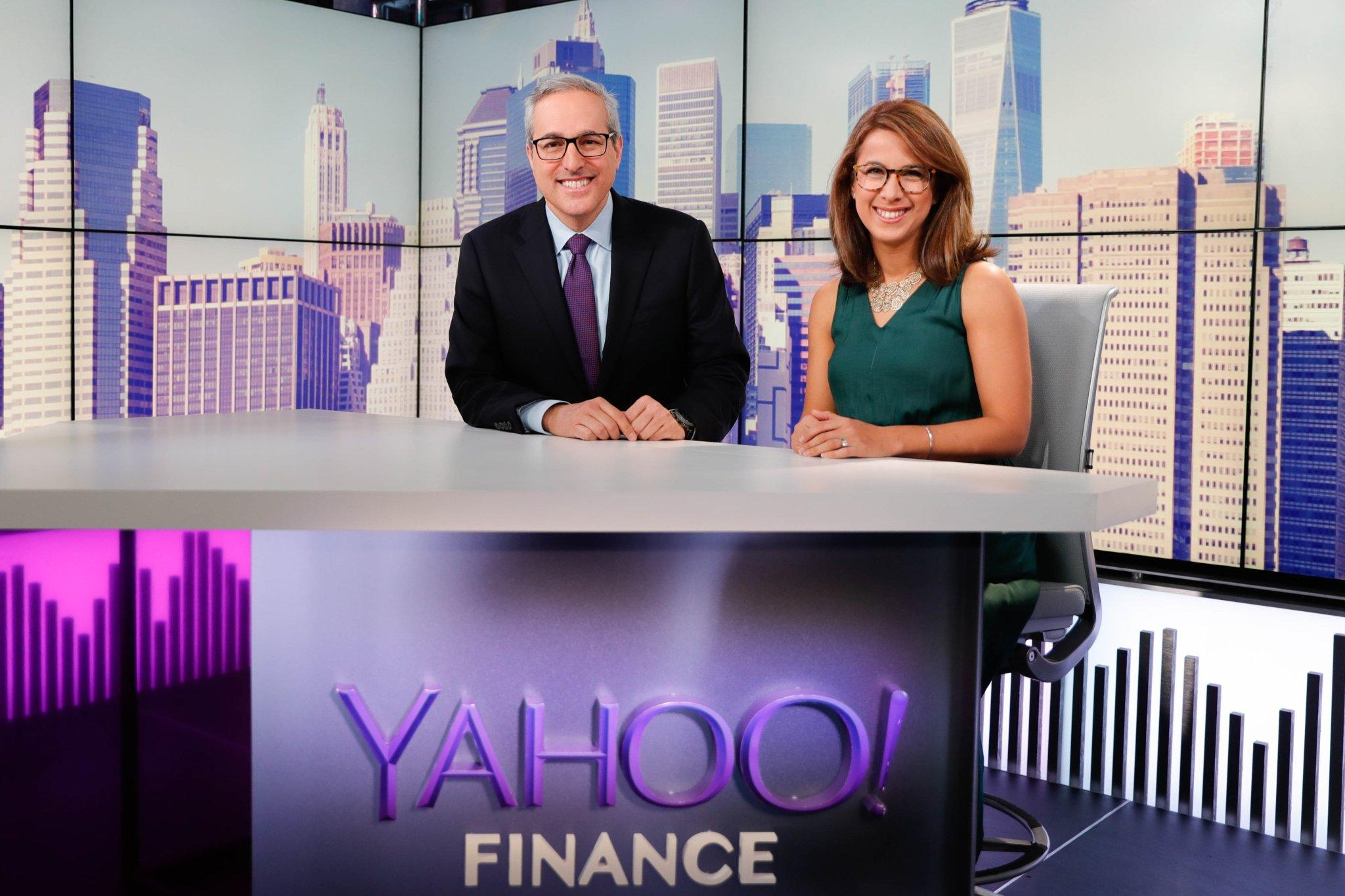 Yahoo Finance's expanding live programming
