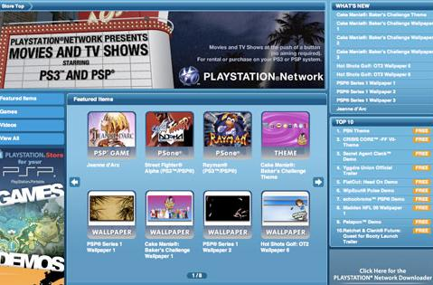 PSP nabbing PlayStation Store this fall, online multiplayer over PS3