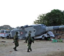 Thirteen killed in Mexican quake zone helicopter crash