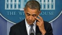 Obama: 'Our hearts are broken today'