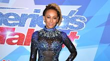 Mel B's totally see-through jumpsuit will make you do a double take