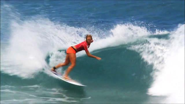 Shark attack victim Bethany Hamilton wins surfing competition