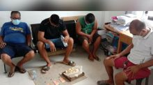Village chief, 3 others nabbed for playing mahjong