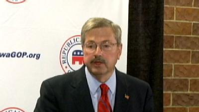 Branstad Wins Iowa Governor's Race