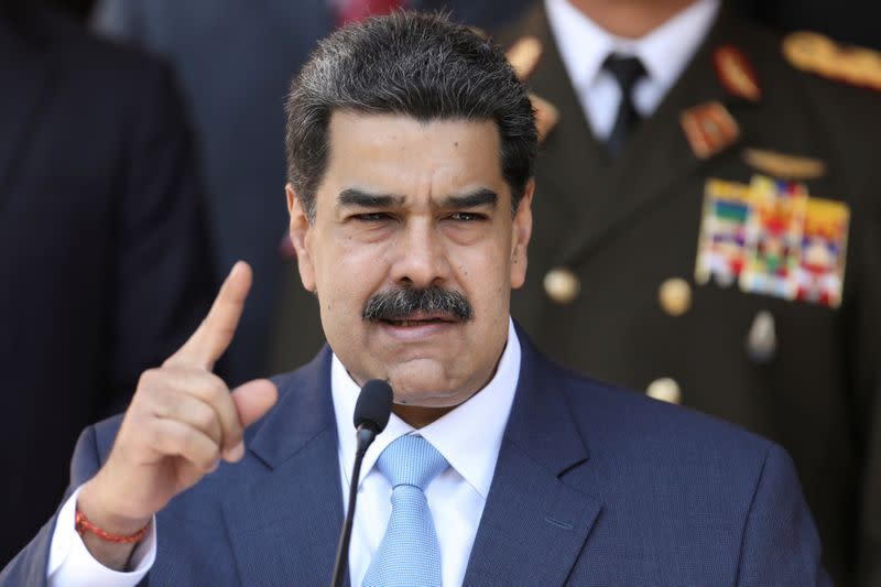 Venezuela's Maduro thanks Iran for helping oil industry overcome U.S. sanctions