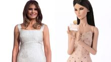 A scented Melania Trump doll? Social media thinks designer toy is first lady look-alike