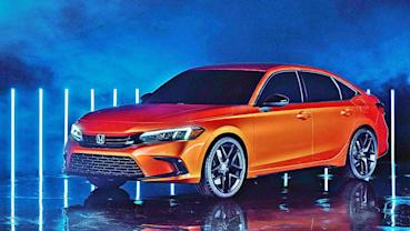 HONDA全新11代Civic原型車亮相,預計2021年春天正式發表