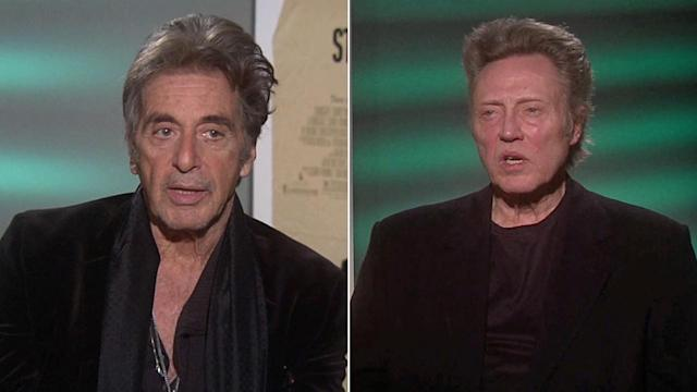 Film legends Pacino, Walken, Arkin star in 'Stand Up Guys'