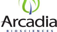 Arcadia Biosciences Announces Management Succession; Provides Financial Guidance