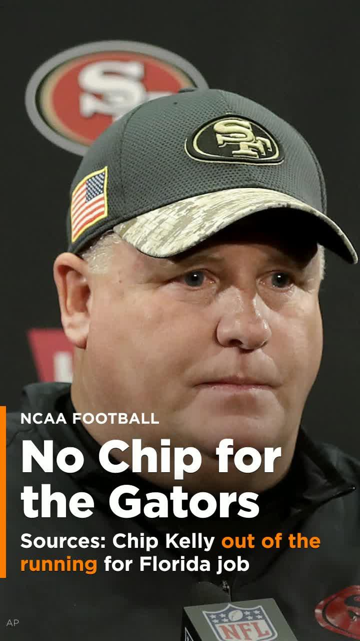 Sources: Chip Kelly out of the running for Florida job [Video]