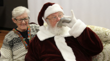 Mall Santa Claus fired after posing for 'inappropriate' gag photos