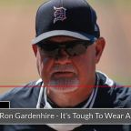 Ron Gardenhire talks about wearing a mask in the dugout
