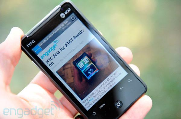 HTC Aria update for AT&T enables mobile hotspot, sideloaded app support (update: partially working!)