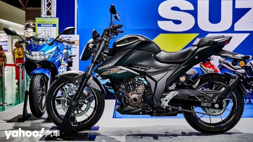 再次見面也依舊心動!2021 Suzuki Gixxer 250、SF 250台北重型機車展賞車! - 13