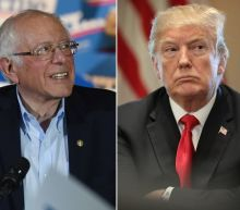 Trump congratulated 'crazy' Bernie Sanders on his win in the Nevada caucuses