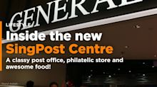 SingPost Centre has a classy post office and awesome food