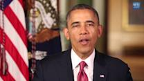 """Obama: lawmakers must stop """"self -inflicted wounds"""" to grow U.S. economy"""
