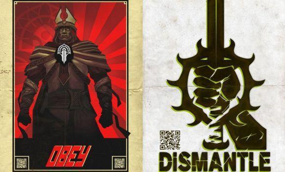 Guild Wars wants to know: will you obey or dismantle?