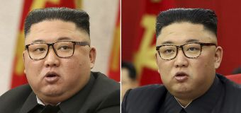 Health speculation mounts as thinner Kim Jong Un appears