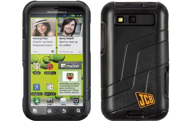 Motorola's UK Defy+ gets rugged JCB-treatment, still useless for excavating