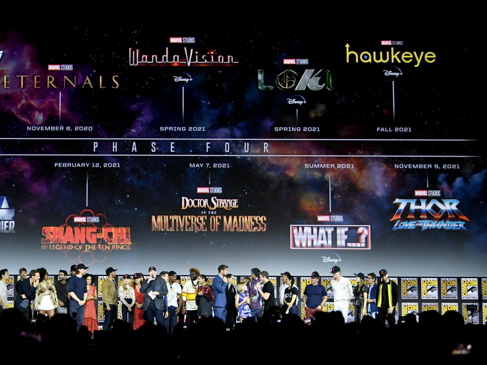 Marvel Phase 4 announcement: The 10 biggest MCU ...