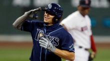 Rays pounce on Red Sox, hold on for 9-5 win