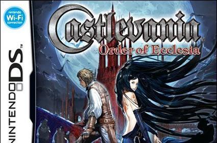 Castlevania boxart: Order of Colada