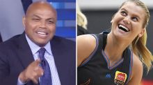 'He's lucky': Charles Barkley sledges Aussie great over daughter