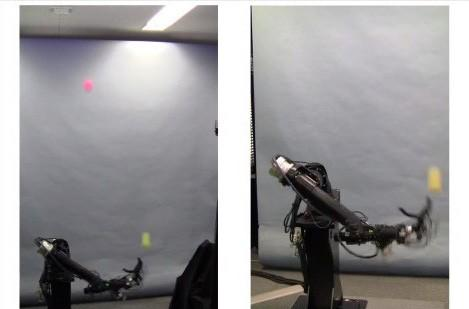 Chiba University's one-armed robot juggles balls, is not a Juggalo (video)