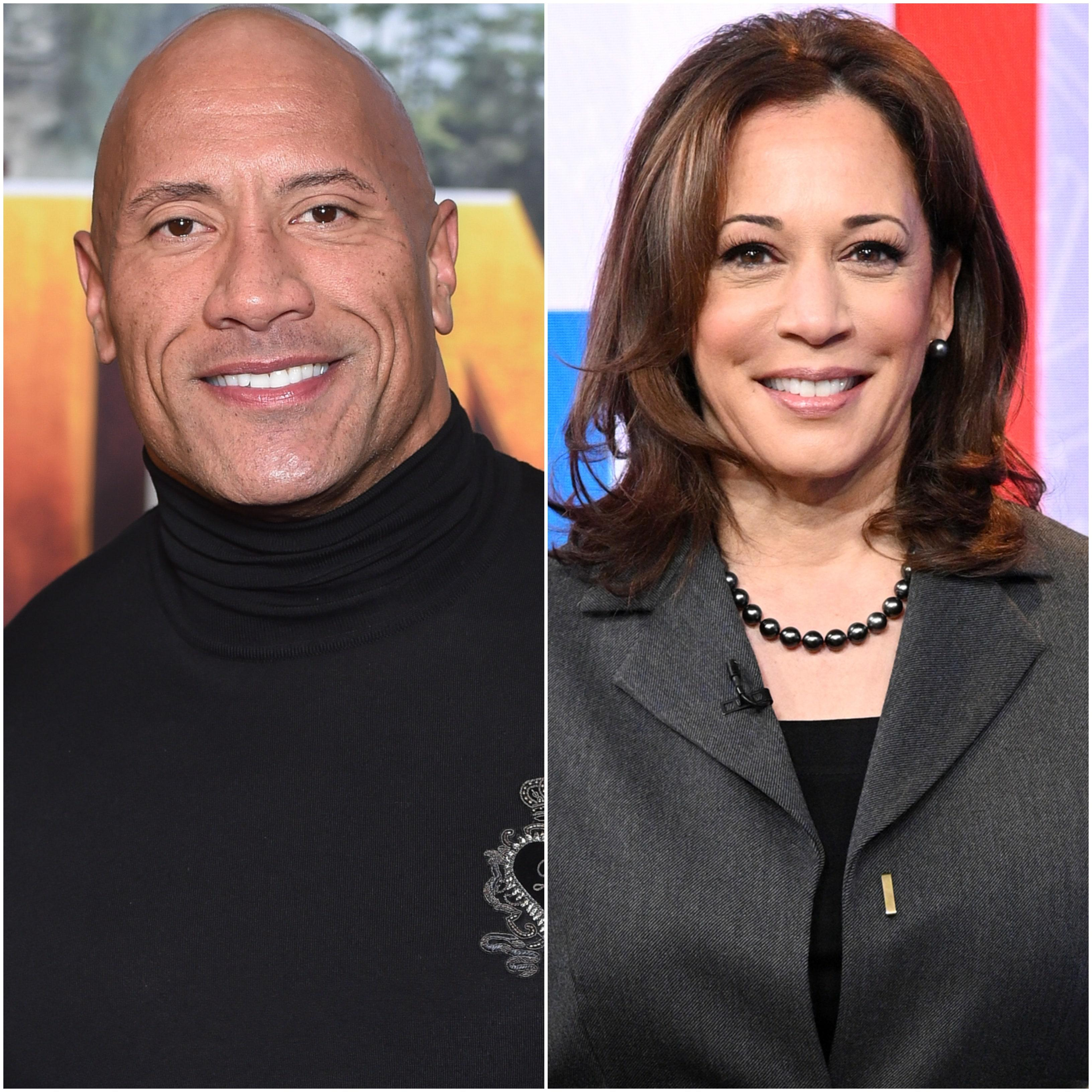 Dwayne 'The Rock' Johnson Endorses Joe Biden and 'Certified Badass' Kamala Harris