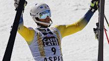 Myhrer upsets Hirscher to takes slalom race at Aspen