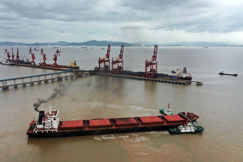 China Jan-Feb exports tumble, imports slow as coronavirus batters trade and business