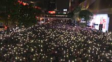 10,000 protesters defy Thai crackdown after emergency decree